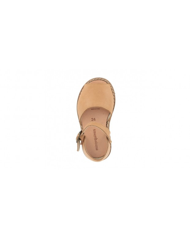 Sandales à boucles naturel
