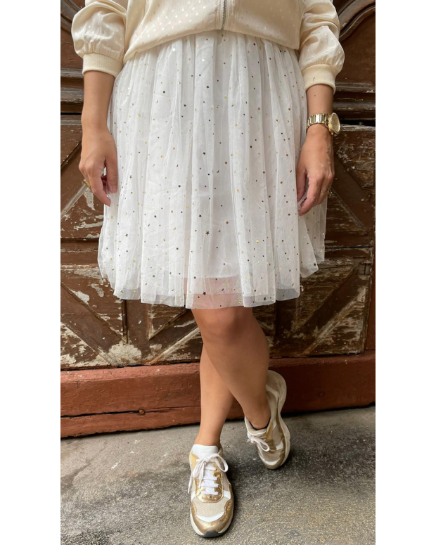 Jupe blanche Clémence