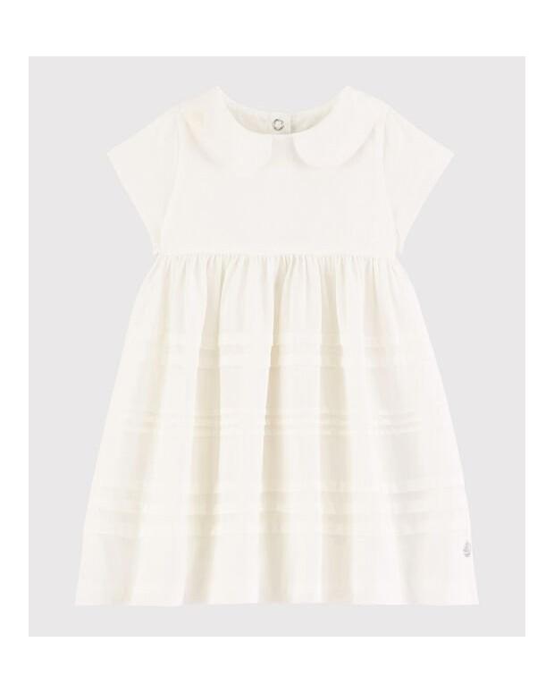 Robe blanche fluide