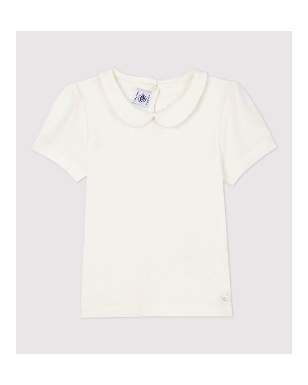 Tee-shirt col claudine...