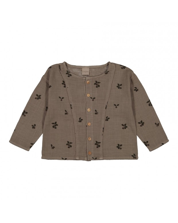 Blouse thelma taupe prunes